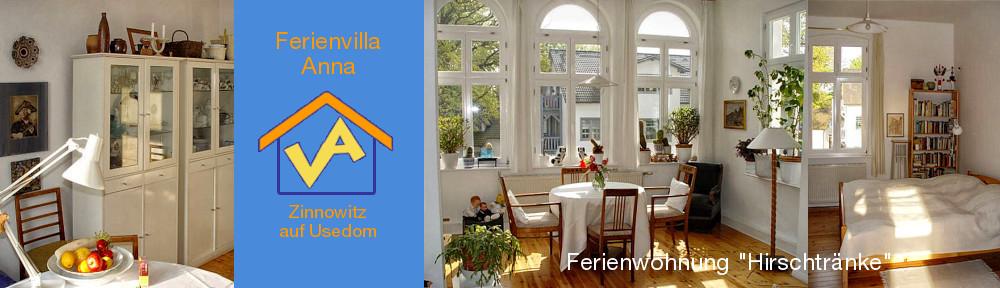 Ferienwohnung Hirschtränke, links: in der Wohnküche, Mitte: Sonne in der Veranda, rechts: Blick ins Schlafzimmer